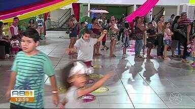 'Brincando lá fora' encerra a temporada com várias brincadeiras para as crianças - Projeto atraiu toda a família para aproveitar o mês de férias com atividades educativas.