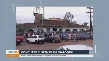 Prova de concurso público em Oiapoque é cancelada por indício de malote violado - Polícia investiga.