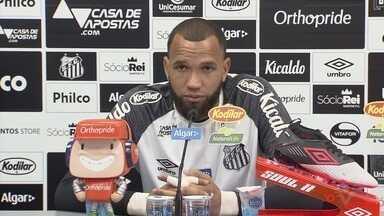 Em Campinas, Santos enfrenta o Guarani e fecha a segunda rodada do Paulistão - O goleiro Everson conversou com a imprensa antes do duelo desta segunda-feira (27).