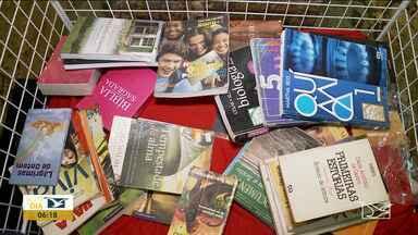 Campanha de arrecadação de livros na Funac tem início em Imperatriz - Ação quer incentivar a leitura, a produção de textos e fortalecer as ações de alfabetização dos internos.