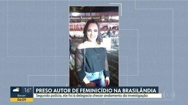 Preso homem que matou companheira na Brasilândia - Segundo a polícia, ele chegou a ir à delegacia ver como estava a investigação