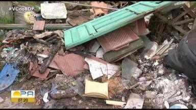 Seurb se posiciona sobre acumulo de lixo em Ananindeua - Seurb se posiciona sobre acumulo de lixo em Ananindeua