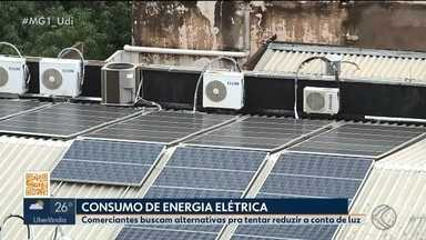 Empresas e comerciantes em Ituiutaba buscam alternativas para reduzir conta de energia - undefined