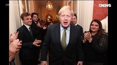 """O fim da novela do Brexit - A eleição de Boris Johnson no Reino Unido deu novo fôlego ao primeiro-ministro e grandes chances de se resolver o Brexit. Nossos comentaristas analisam ainda a eleição de Greta Thunberg como a pessoa do ano pela revista Time, como """"pirralha"""" virou a palavra da semana e como Trump está cada vez próximo do impeachment."""