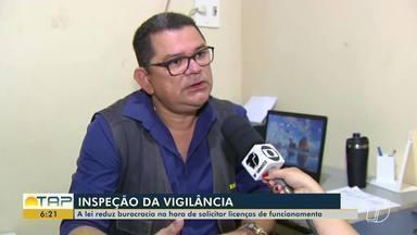 Lei reduz burocracia na hora de solicitar licenças de funcionamento - Coordenador da Vigilância Sanitária em Santarém explica o procedimento.