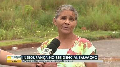 Em Santarém, moradores do Residencial Salvação cobram mais policiamento na área - Pessoas temem por criminalidade recorrente; Polícia Militar atua na área através de app.