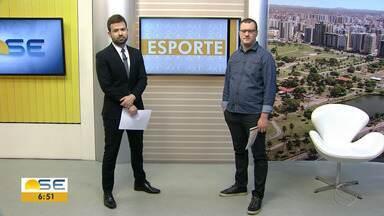 Thiago Barbosa conta as novidades do esporte sergipano - Thiago Barbosa conta as novidades do esporte sergipano.