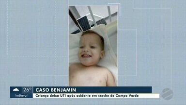 Criança deixa UTI após acidente em creche de Campo Verde - Criança deixa UTI após acidente em creche de Campo Verde