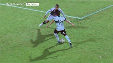 Coritiba e Operário empatam no Couto Pereira - Fantasma igualou o jogo com o Coxa quando tinha um jogador a menos