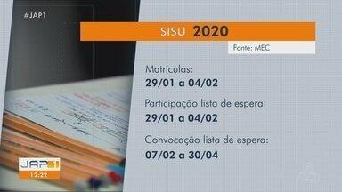Veja as datas de matrículas para o Sisu e o Prouni 2020 - Veja as datas de matrículas para o Sisu e o Prouni 2020