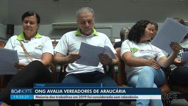 Relatório aponta que maioria dos trabalhos dos vereadores de Araucária não tem relevância - O Observatório Social de Araucária analisou os projetos, requerimentos, indicações e faltas dos vereadores em 2019.