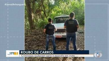 Criminosos estão escondendo carros roubados em matas de Goiânia - Polícia investiga caso.