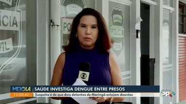 Saúde investiga casos de dengue entre presos - Suspeita é de que dois detentos de Maringá estejam doentes.