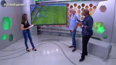 Márcio Chagas analisa arbitragem do jogo entre Grêmio e São José - Assista ao vídeo.