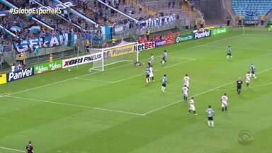 Grêmio vence o São José de virada e ocupa a vice-liderança do Grupo B no Gauchão - Assista ao vídeo.