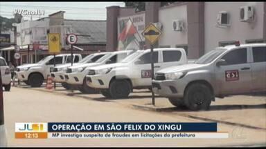 MPPA cumpre mandados de prisão e busca e apreensão na Prefeitura de São Félix do Xingu - MPPA cumpre mandados de prisão e busca e apreensão na Prefeitura de São Félix do Xingu