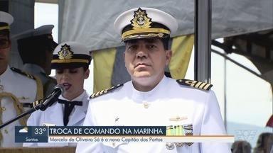 Novo Capitão dos Portos assume o posto - Marcelo de Oliveira Sá é o novo Capitão dos Portos.
