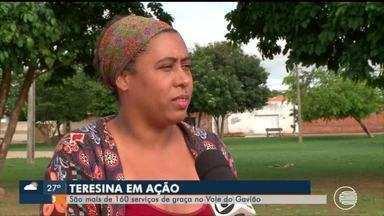 Teresina em Ação acontece no Vale do Gavião com mais de 150 serviços gratuitos - Teresina em Ação acontece no Vale do Gavião com mais de 150 serviços gratuitos