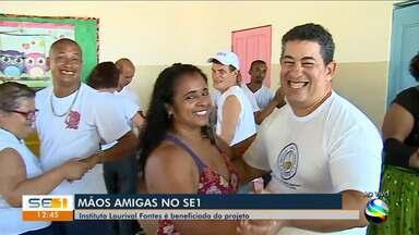 Instituto Lourival Fontes será beneficiado pelo projeto Mãos Amigas - Instituto Lourival Fontes será beneficiado pelo projeto Mãos Amigas.