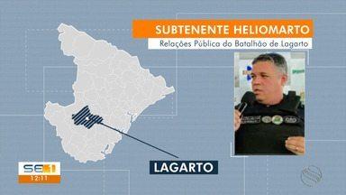 PM apreende veículo roubado com vereador de Lagarto - Carro teria sido repassado pelo deputado estadual Ibrain Monteiro (PSC).