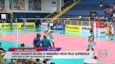 Vôlei Taubaté recebe Ribeirão pela Superliga - Jogo será às 20h, no Ginásio do Abaeté.