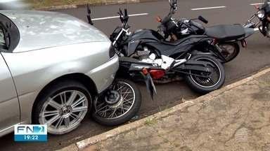 Motoristas abusam de velocidade e desrespeitam sinalização na Av. Coronel Marcondes - Prefeitura de Presidente Prudente informou que uma equipe vai avaliar o local.