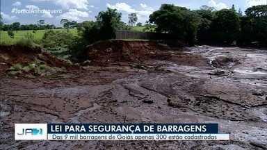 Governo publica lei que estabelece regras de segurança para barragens em Goiás - É necessário fazer o cadastramento de barragens e represas para evitar rompimentos. O cadastro é feito na Secretaria do Meio Ambiente.