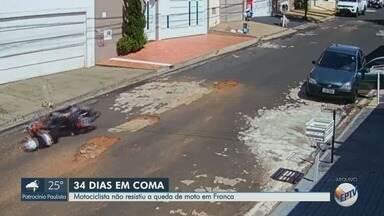 Morre dona de casa que caiu com moto em rua esburacada de Franca, SP - Vítima, de 52 anos, ficou em estado grave, mas havia recebido alta há quatro dias.