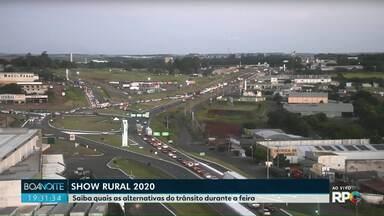 Show Rural em Cascavel começa na segunda-feira - Saiba quais as alternativas do trânsito durante os dias de feira.