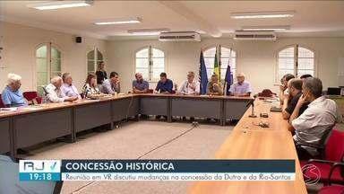 Reunião em Volta Redonda discute mudanças na concessão da Via Dutra e da Rio-Santos - Iniciativa é do Governo Federal, mas autoridades e organizações do estado estão se organizando para propor mudanças no projeto.