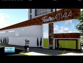 Teatro Atiaia ganha projeto de reforma após quatro anos interditado - Para realizar as obras, Prefeitura de Governador Valadares vai contar com apoio da iniciativa privada.