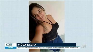 Mulher é suspeita de matar marido e encomendar morte do amante - Confira mais notícias em g1.globo.com/ce
