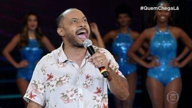 Zé Ninguém, personagem de Ivo Ferreira, arranca gargalhadas no 'Quem Chega Lá' - Confira a apresentação do artista