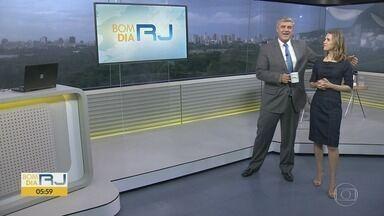 Bom dia Rio - Edição de segunda-feira, 03/02/2020 - As primeiras notícias do Rio de Janeiro, apresentadas por Flávio Fachel, com prestação de serviço, boletins de trânsito e previsão do tempo.