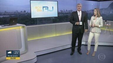 Bom dia Rio - Edição de terça-feira, 04/02/2020 - As primeiras notícias do Rio de Janeiro, apresentadas por Flávio Fachel, com prestação de serviço, boletins de trânsito e previsão do tempo.