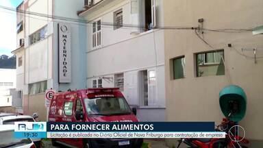 Prefeitura abre licitação para empresas fornecer alimentos à maternidade em Nova Friburgo - Licitação foi publicada no Diário Oficial do município.