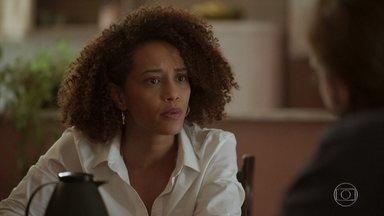 Vitória rompe o relacionamento com Davi - Ela explica que não pode ter mais problemas em sua vida