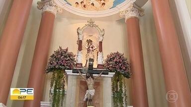 Católicos celebram Santa Águeda, padroeira de Pesqueira - Santa é conhecida como protetora das mulheres.