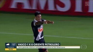Vasco estreia com vitória na Copa Sul-Americana - Botafogo empata contra Caxias na Copa do Brasil