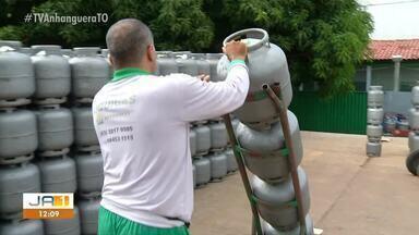 Preço do gás de cozinha no Tocantins é um dos cinco maiores do país - Preço do gás de cozinha no Tocantins é um dos cinco maiores do país