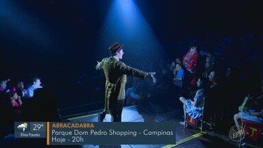 Confira a programação das atrações culturais do fim de semana em Campinas - Shows de música, peça de teatro e circo são algumas das opções para esse fim de semana na região.