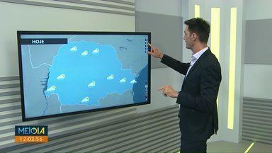 Pancadas isoladas de chuva estão previstas para Cascavel durante a tarde desta sexta-feira - Temperaturas ficam acima dos 30 graus nas cidades da região Oeste.