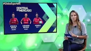 Central do Mercado: confira os reforços da dupla grenal do futebol feminino - Assista ao vídeo.