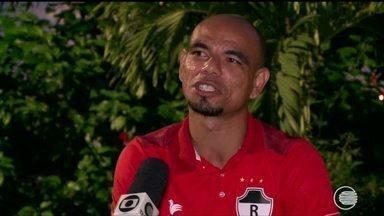 Jean Natal fala sobre emoção de fazer o gol da classificação do River-PI - Jean Natal fala sobre emoção de fazer o gol da classificação do River-PI