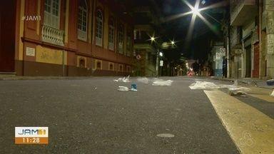 Comerciantes relatam falta de segurança no Centro de Manaus - Segundo eles, policiamento é insuficiente.