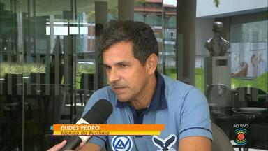 Novo técnico da Perilima, Eudes Pedro fala sobre o desafio no futebol paraibano - Ex-auxiliar de Cuca, profissional vive suas primeiras experiências como treinador