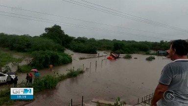 Tráfego em acesso a Bodocó é liberado nesta sexta-feira (7) - O local estava intransitável após a chuva