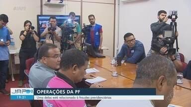 PF prende servidor do Tjap em investigação por fraudes previdenciárias, em Macapá - PF prende servidor do Tjap em investigação por fraudes previdenciárias, em Macapá