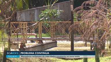 Mau cheiro volta a incomodar moradores da zona oeste de Londrina - Bronca segundo a empresa de laticínios desta vez seria com o vazamento de esgoto e não com a estação de tratamento de resíduos da empresa