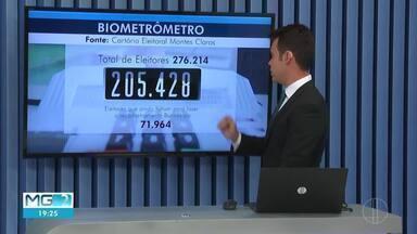 Mais de 70 mil eleirores não cadastraram biometria em Montes Claros - Cadastro pdoe ser feito até 6 de março; Quem perde o prazo tem o título cancelado.
